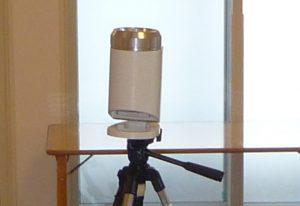 浮遊カビの測定写真