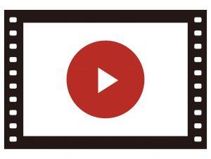 会社概要の動画リンクボタン