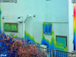 赤外線 雨漏り調査 外壁診断 サーモグラフィ調査